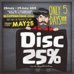 Discount 25% For Online Shopping!