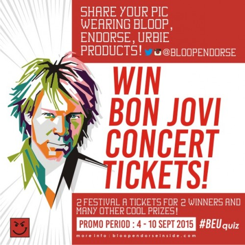 BON JOVI BLOOP ENDORSE