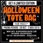 EVENT: HALLOWEEN TOTE BAG