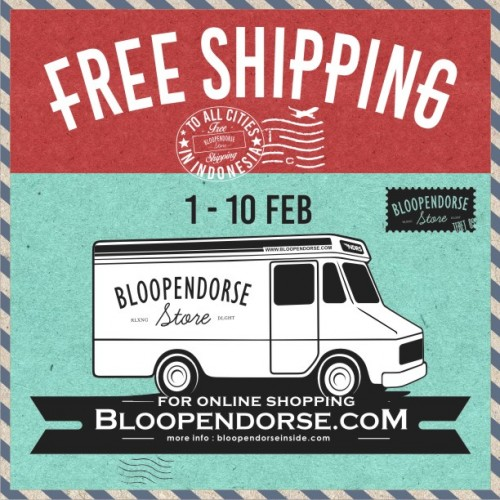 free shipping bloop endorse urbie