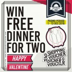 WIN FREE DINNER FOR TWO!