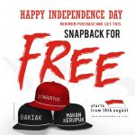 HAPPY INDEPENDENCE DAY! FREE SNAPBACK