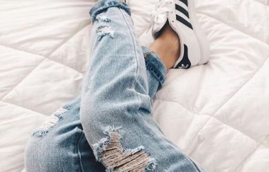 ripped jeans bloop endorse